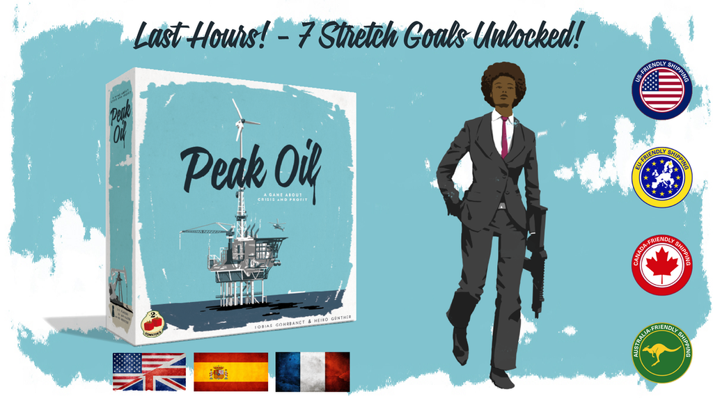 Peak Oil, a tabletop game about Crisis and Profit project video thumbnail