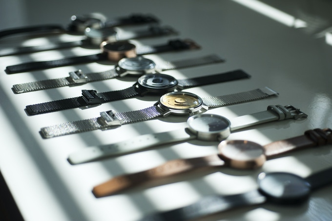Anicorn's collection of timepieces