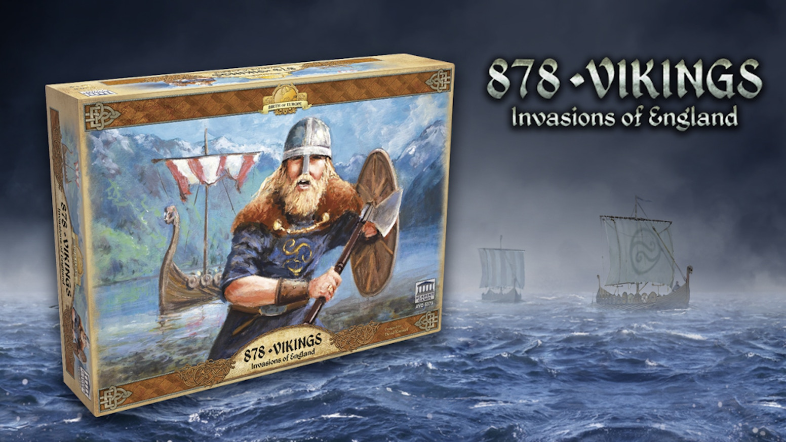 Gain fame, riches and a new home as the Vikings voyaging to England, or defend your Kingdom and Christendom from the pagan hordes!