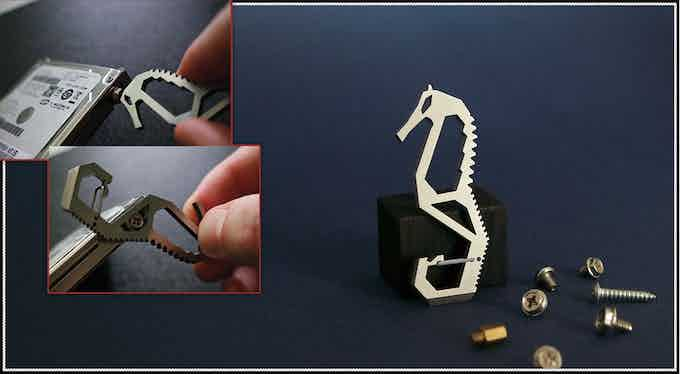 Fitting some types of screws, especially standard PC screws.