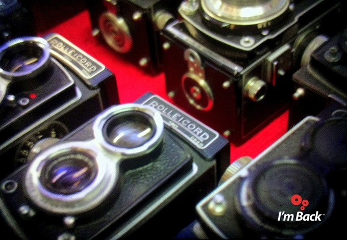 Nikon F  - 50mm f.1.2 + I'm Back