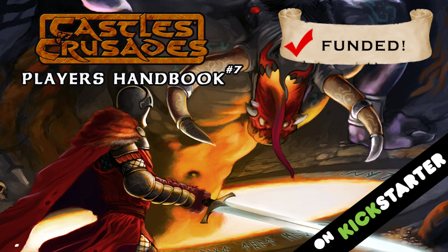 The core book of the original fast paced, bare-knuckles, easy-to-learn, fun for all ages, fantasy RPG that is Castles & Crusades!