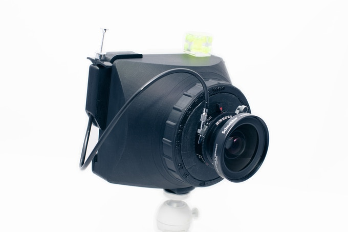 MALEFiC Camera with Schneider 90/8