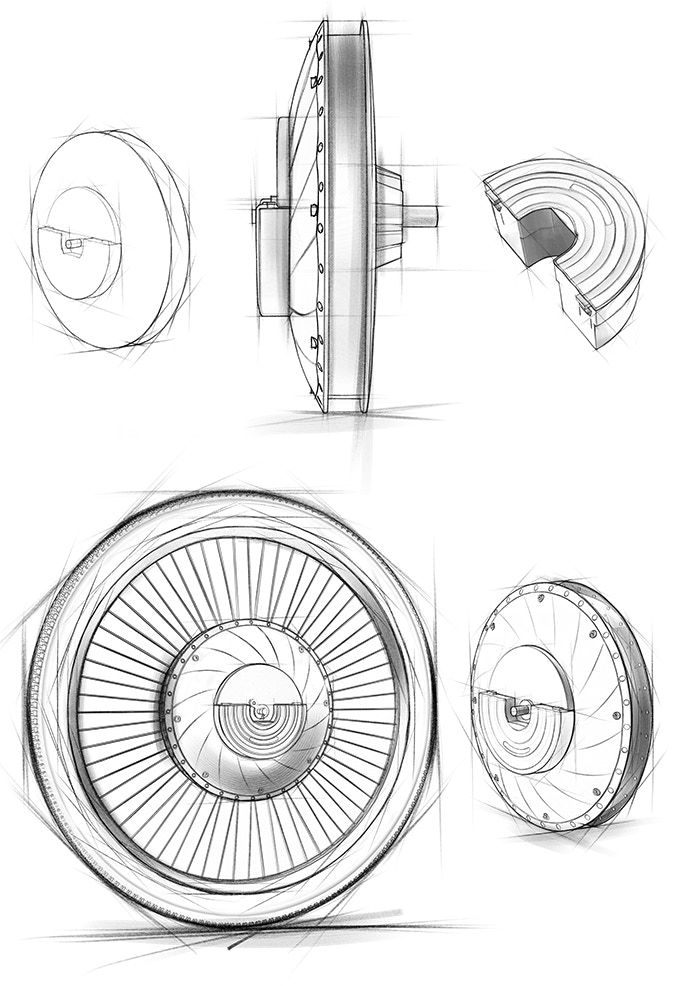 Early sketches of the UrbanX