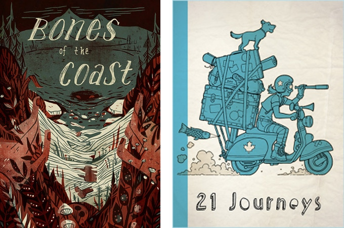 Bones of the Coast and 21 Journeys