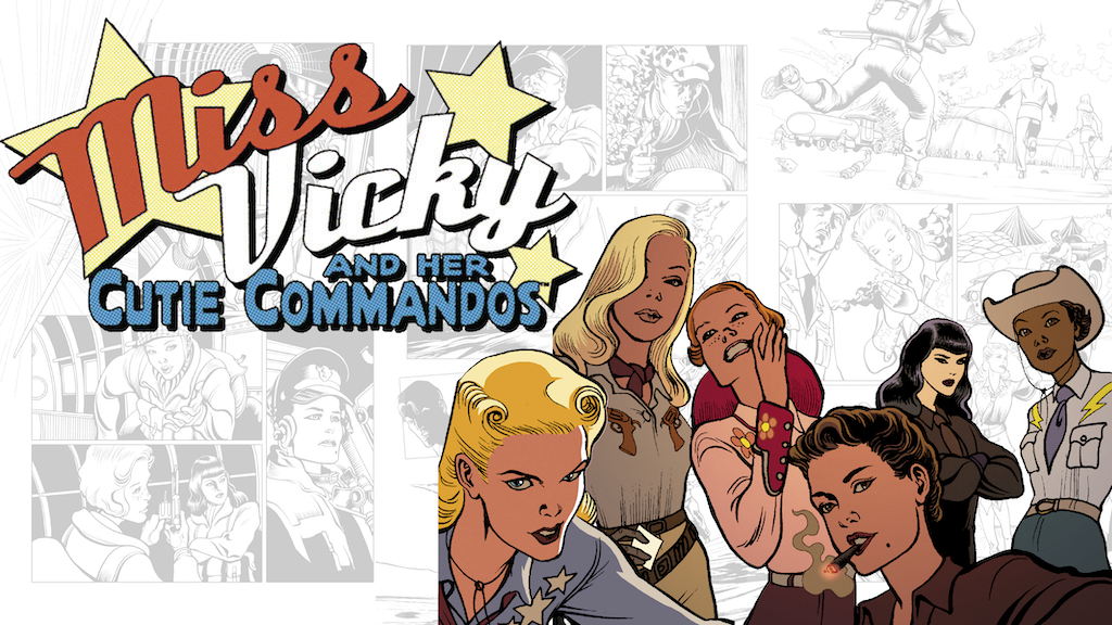 Miss Vicky & her Cutie Commandos #1 project video thumbnail