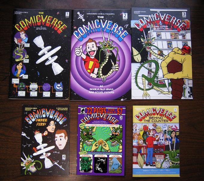 (AC1) The Comicverse Complete Set