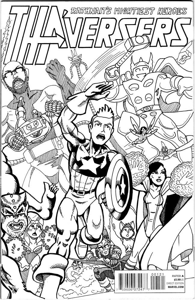 Sketch Cover sample from a previous Kickstarter campaign