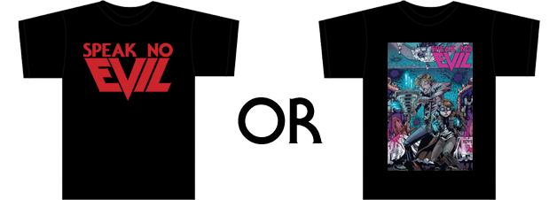 The T-shirt reward options!