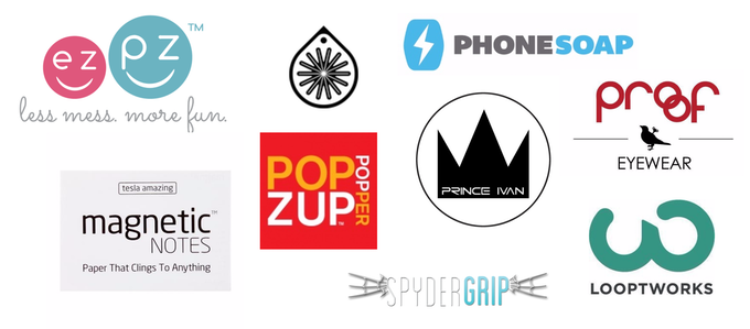 Some of the brands we've been working with