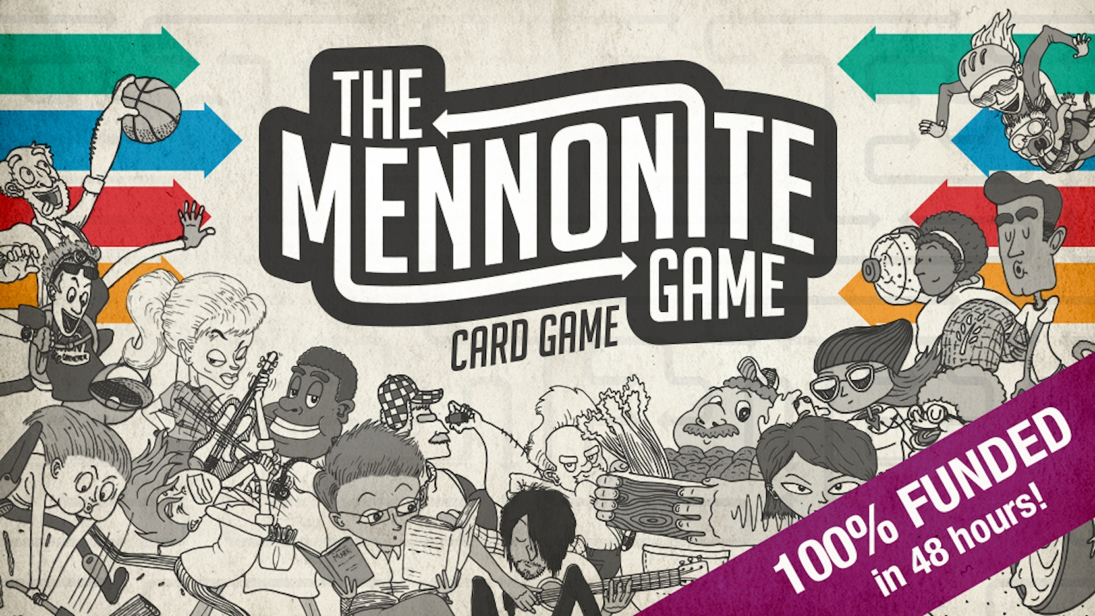 "A fun, strategic card game based on ""The Mennonite Game"" where people discover that they are connected in various ways!"