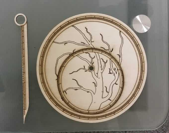 Measure celestial bodies with these laser-cut astrolabes from a first-time creator.