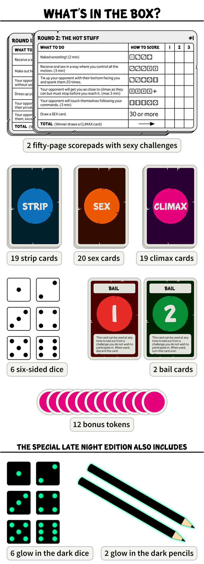 Luck & Love - A sinfully sexy game for daring couples by