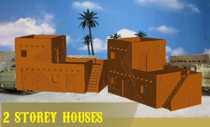 render of the buildings