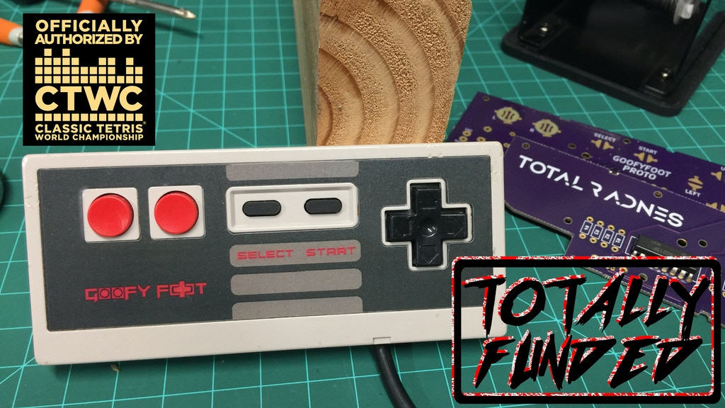 Goofy Foot - NES Controller Mod Kit project video thumbnail