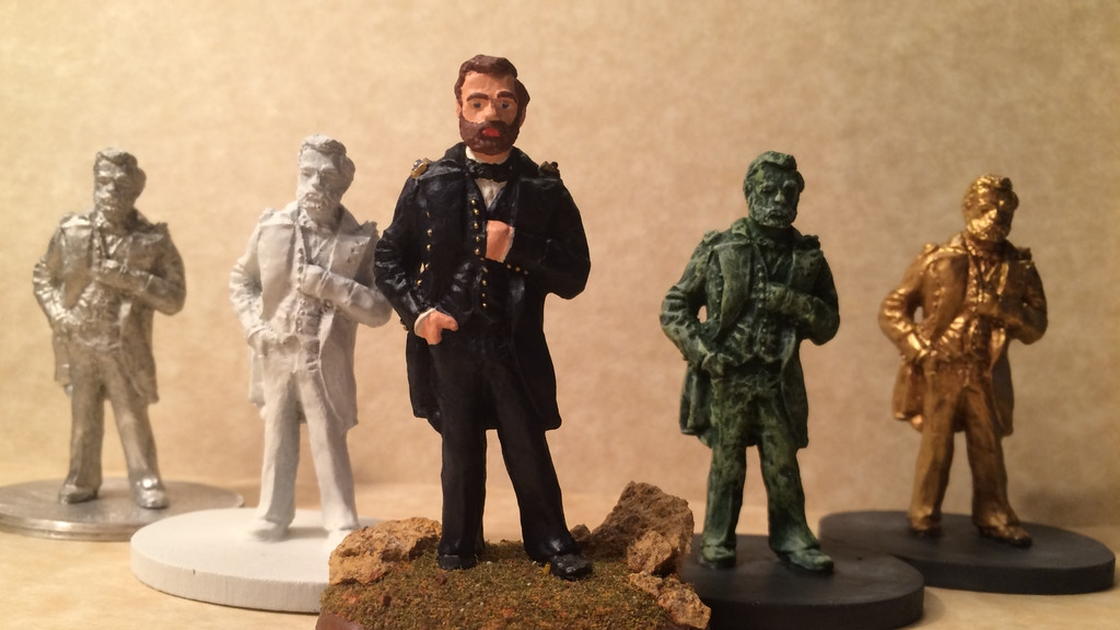 Project image for Ulysses S. Grant Sculpture