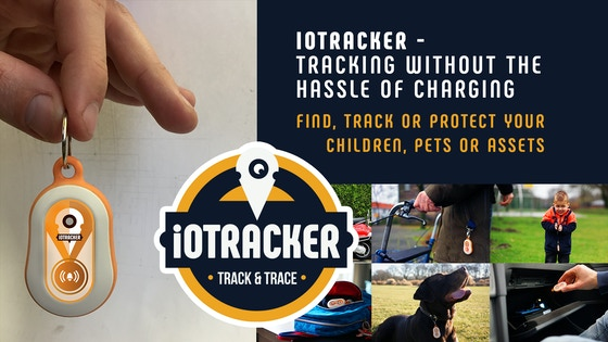 Track ioTracker - LoRa GPS tracker without the hassle of charging's