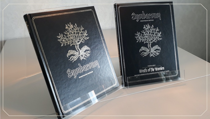 The two previous Nightbane editions in all their glory