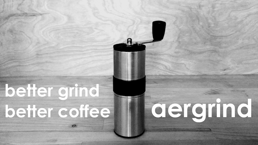 Aergrind: the new Compact Coffee Grinder made by Knock project video thumbnail