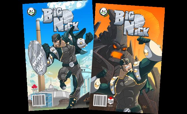 Big Nick #1 & #2