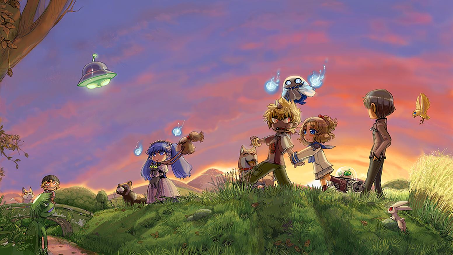 A Golden Sky Stories supplement that introduces the mononoke, strange creatures of pure wonder.