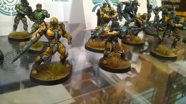 Painted minis! José David (Last Saga painter) won a couple prizes in the painting contest with the Tanaor Starter Pack.
