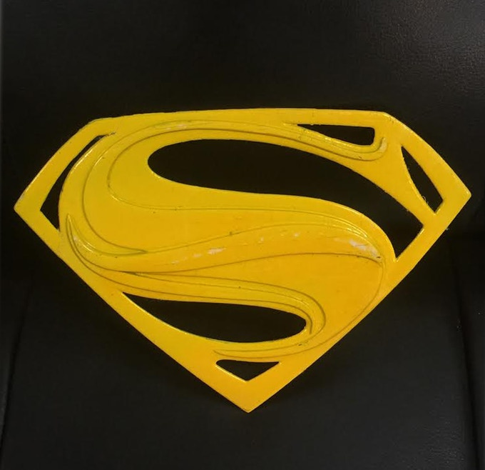 logo from Hollywood Superman's cape