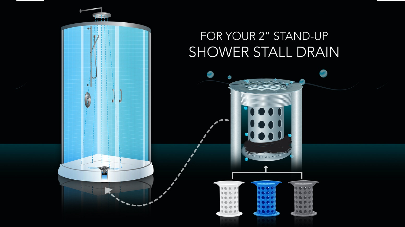 After two successful Kickstarter projects, we are back with our third, long-awaited product called ShowerShroom™ for your Shower Drain