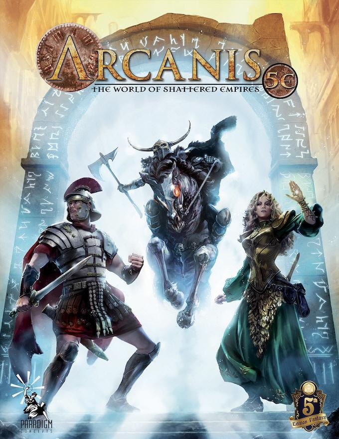 Arcanis 5e Rpg By Henry Lopez Kickstarter