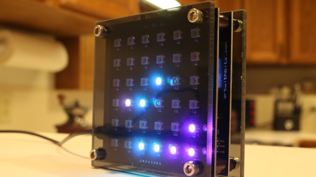 Binary Alarm Clock project video thumbnail