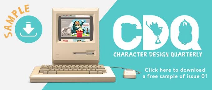 Character Design Quarterly Kickstarter : Character design quarterly by dtotal publishing —kickstarter