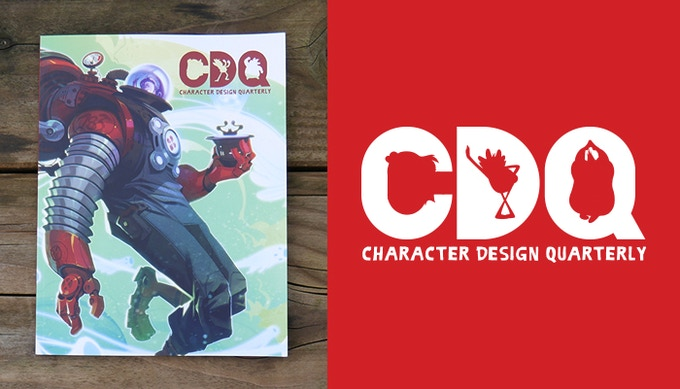 Character Design Quarterly Magazine : Character design quarterly by dtotal publishing kickstarter