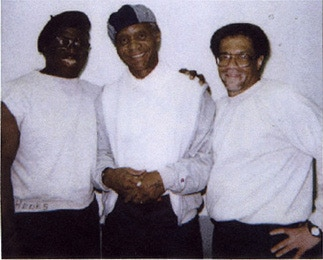 Albert Woodfox, Robert King and Herman Wallace