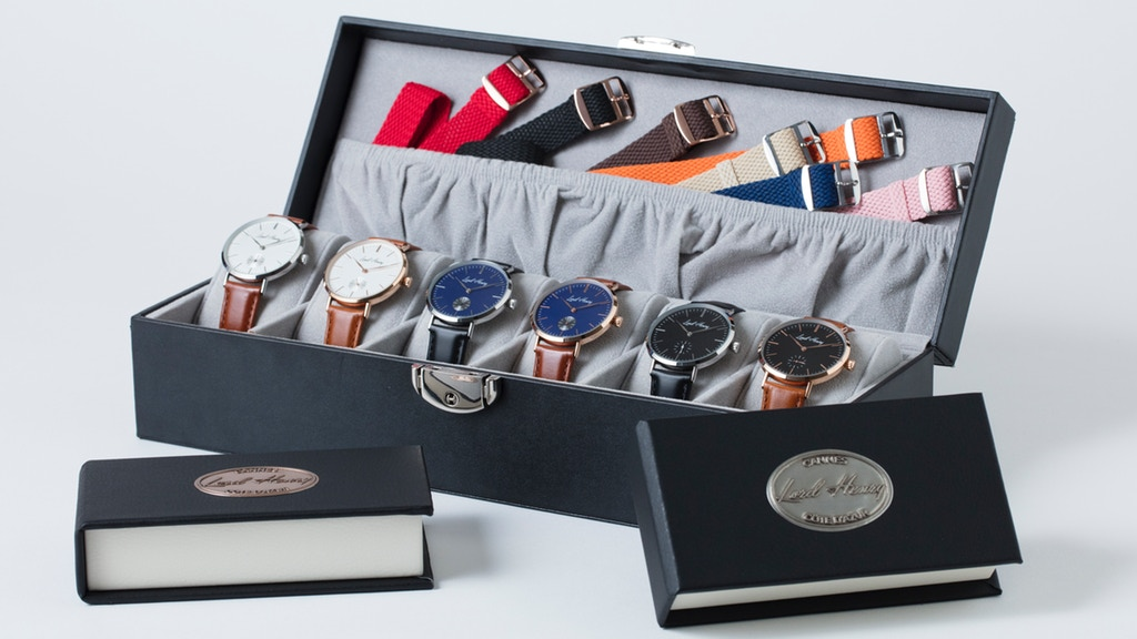 Lord Henry: customizable Made in France luxury watches project video thumbnail