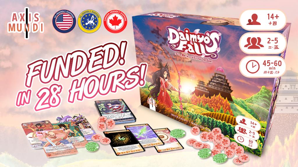 Daimyo's Fall - A Treasure Hunting Deckbuilding Game project video thumbnail