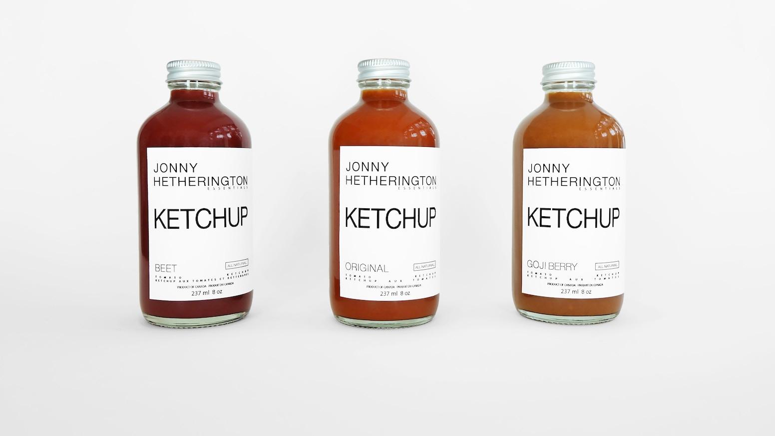 Jonny Hetherington Essentials Premium Ketchup Trio by Jonny
