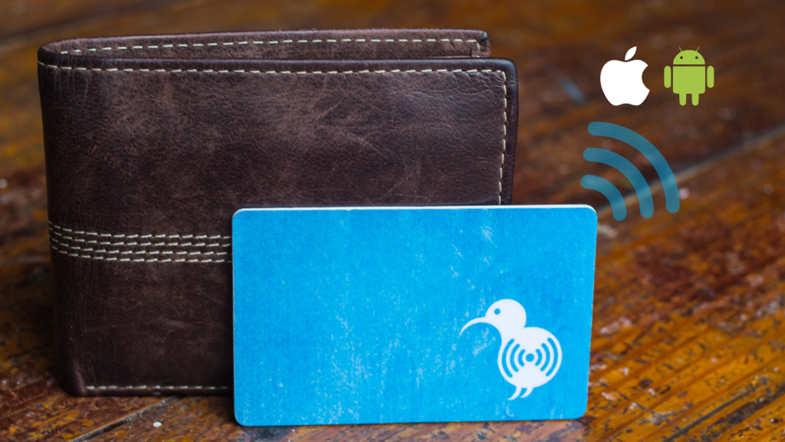 Bluetooth tracker. World's thinnest. Waterproof. 3 year battery life. Make your wallet a smart wallet. Fully funded! Pre-order on Indiegogo!