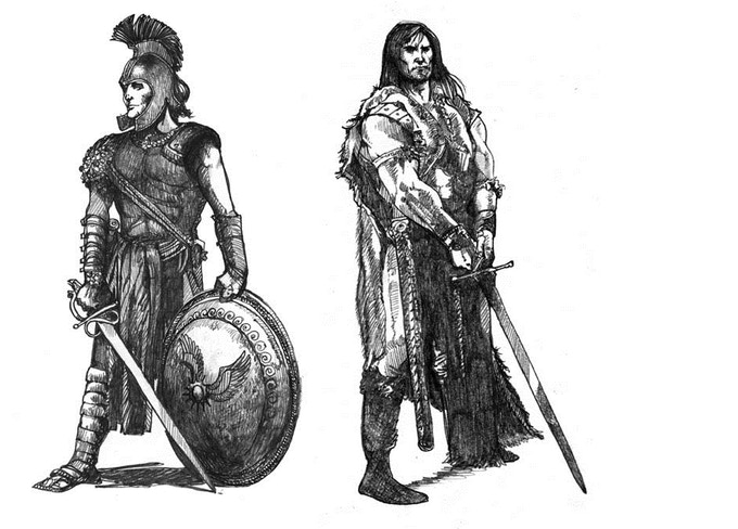 Barbarians and Heroes, Ready Yourselves!