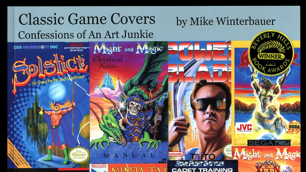 Classic Game Covers by Mike Winterbauer project video thumbnail