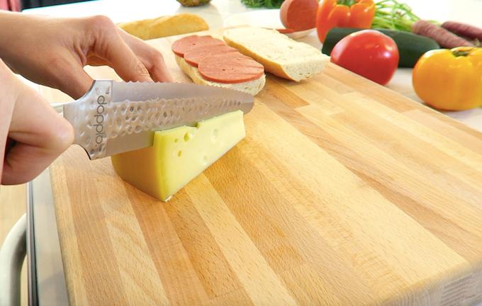 Doppio double sided kitchen knife by doppio kickstarter for Food s bar unloc