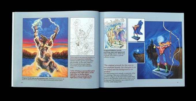Wolfchild and Solstice pages