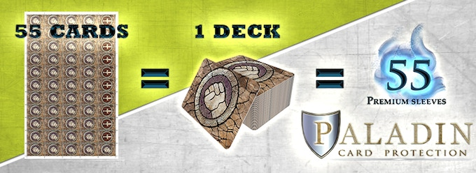 Paladin card protectors premium sleeves for gamers by nskn games if your gaming collection spans over multiple card games we know you buy card sleeves in bulk with paladin card protectors you will always have what you colourmoves