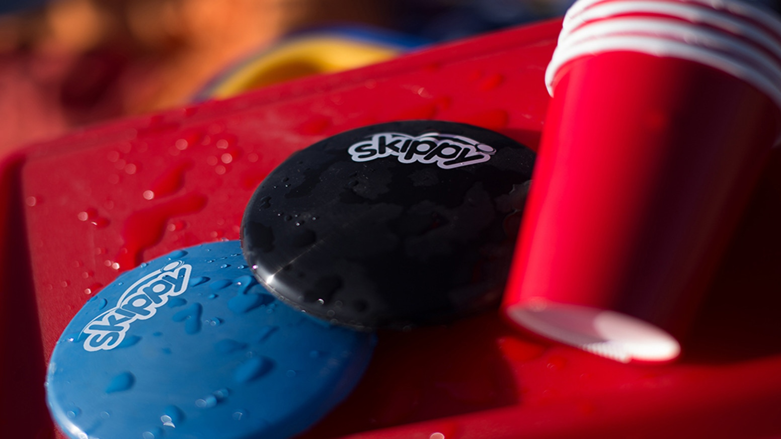 The idea emerged from skipping flat rocks on water's surface. It's fast, it's fun and it can be yours here.