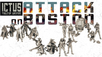 Ictus: Tabletop Warfare - Attack on Boston expansion module