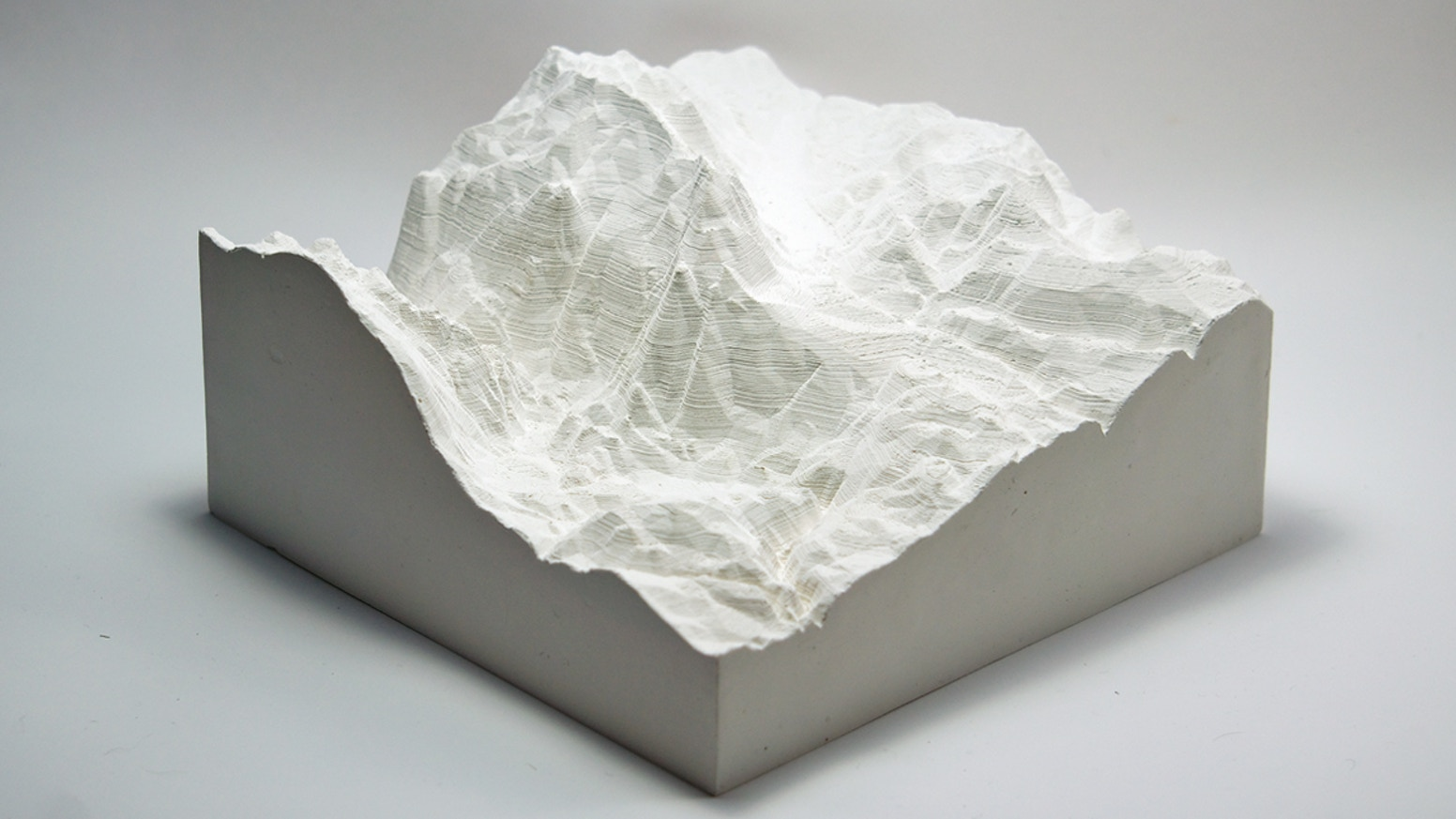 Landscape castings that visualize the voting power of one of our most sublime states and fund an independent art and research project.