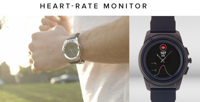 ZeTime: World's first smartwatch with hands over touchscreen