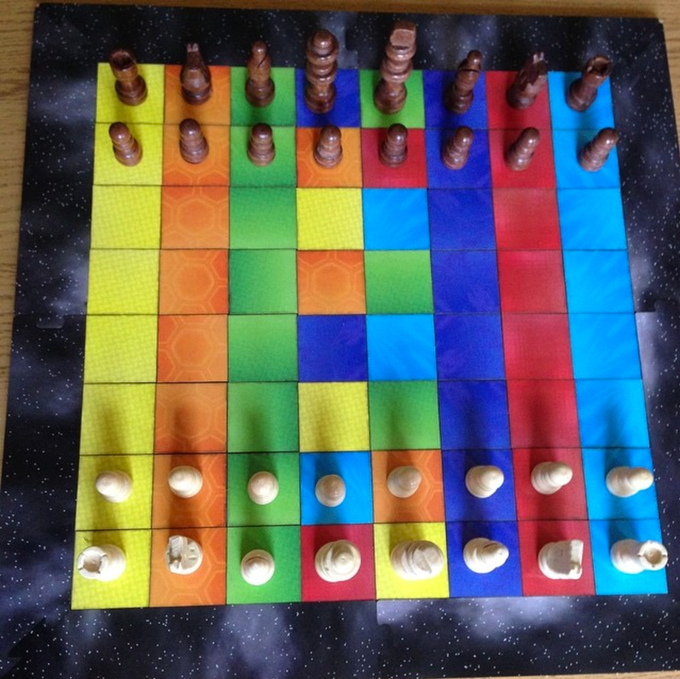 If Youd Rather Use Your Own Solid Pieces To Play Colour Chess Then Please Do The Flippable Are More Necessary For Swarm See Below