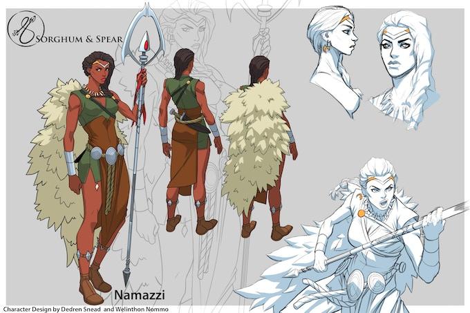 Namazzi - Character Sheet