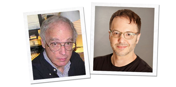 two legendary designers
