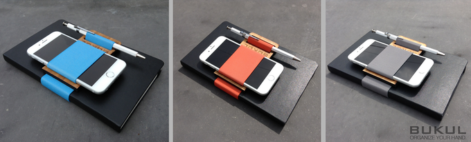 BUKULbook Set, Available in CYAN, PERSIMMON or GREY